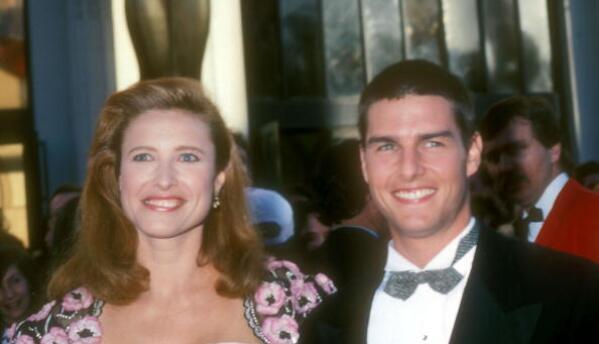 Tom Cruise y Mimi Rogers