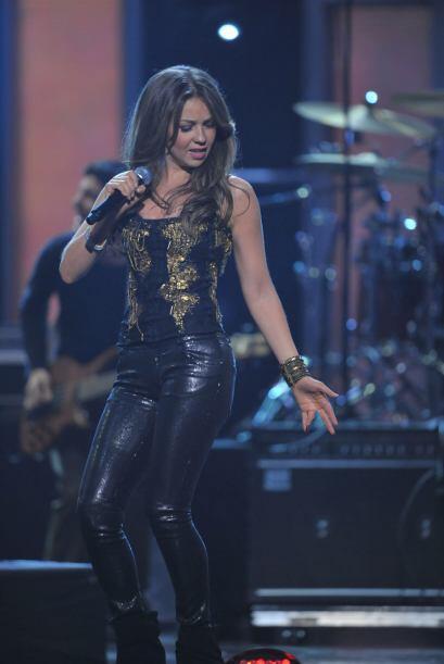 En 2010 interpretó su éxito del momento 'Qué Será de Ti'.