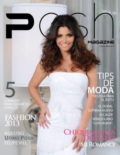 La 'POSH Magazine' tuvo la dicha de contar con una exclusiva sesión foto...