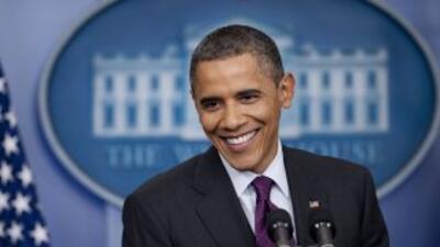 Una encuesta reciente mostró que Barack Obama tiene una ligera ventaja s...