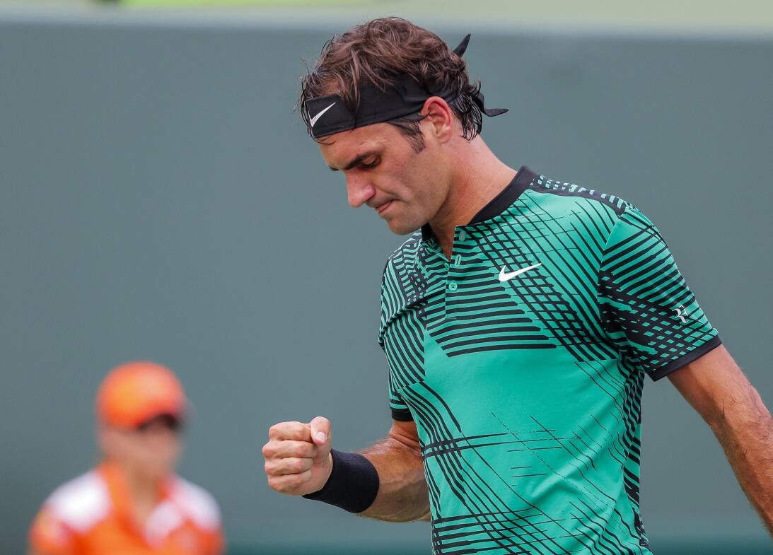 Roger Federer, el contudente campeón del ATP Miami Open 2017 63626760971...