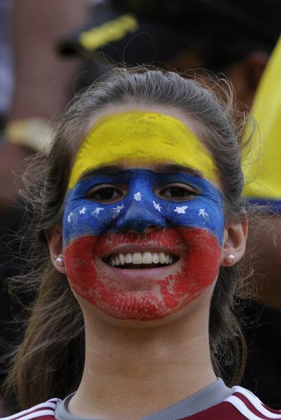 Sin embargo, a pesar de la derrota la ´barra brava´ venezolana tuvo tiem...