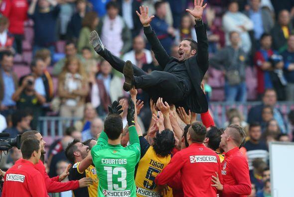 Mayo 17 - El Atlético de Madrid se proclamó campeón de Liga por décima v...