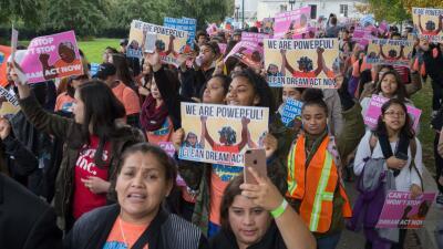 Protesta en Washington DC a favor de una solución legislativa permanente...