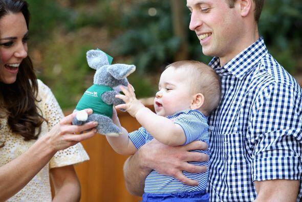 La última fotografía del príncipe George que nos regalaron Kate y Willia...