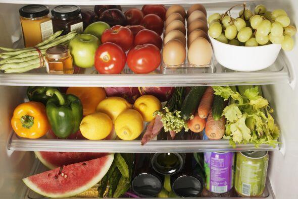 Refrigera únicamente los vegetales que así lo requieren para asegurarte...