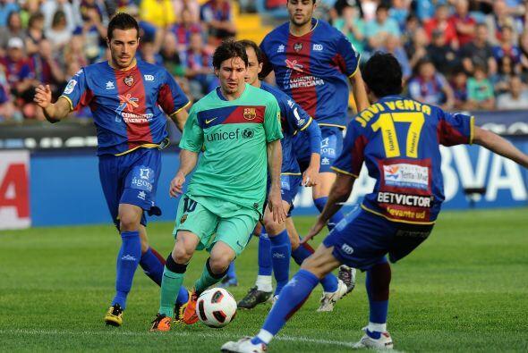 Llegó la hora de la verdad para el Barcelona, en la fecha 36 de la Liga...