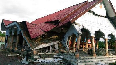 Terremoto de 6.5 en Indonesia