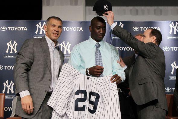 Soriano, de 31 años de edad, fue líder en la Liga Americana en el 2010 c...