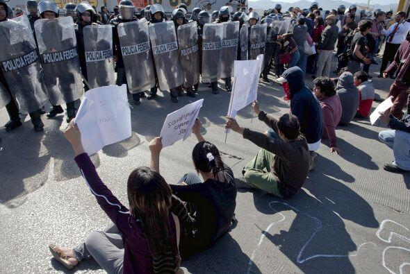 La población de Ciudad Juárez y de toda Chihuahua se ha manifestado en m...