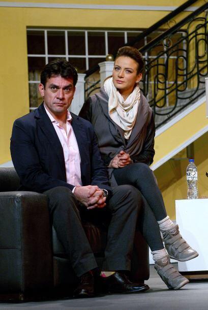"""Silvia Navarro y Jorge Salinas transmitirán el amor de """"Ana"""" y """"Fernando..."""