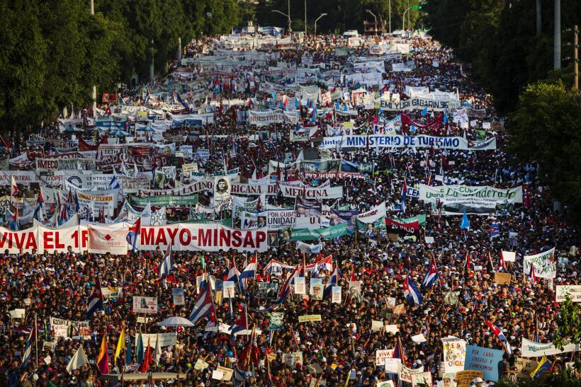 Marchas 1 de mayo Latinoamérica
