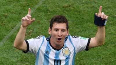 El astro argentino dijo que sabía que sería difícil llegar a semis.