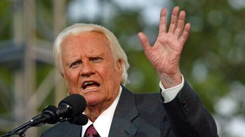 Billy Graham, en una imagen de archivo.