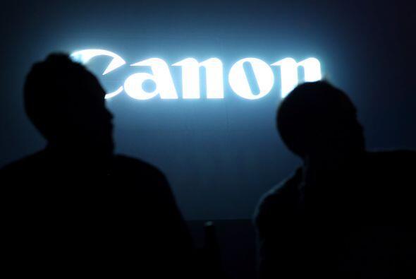 3.  La japonesa Canon lideró el registro de patentes en la isla asiática...