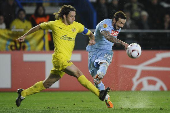 Villarreal recibió al Napoli en El Madrigal tras haber empatado sin gole...
