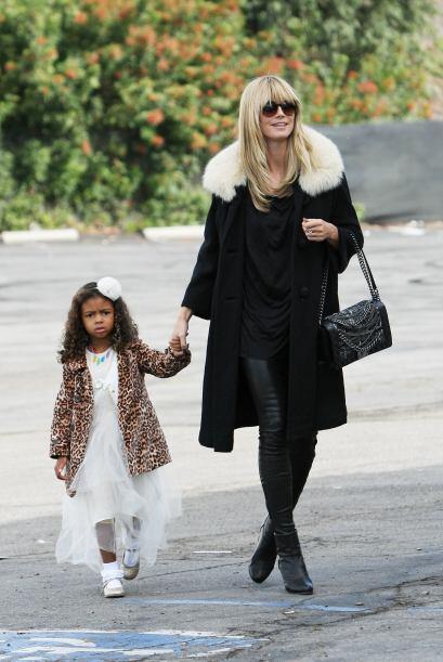 Heidi Klum, icono de la moda y la belleza en el mundo, no podía defrauda...