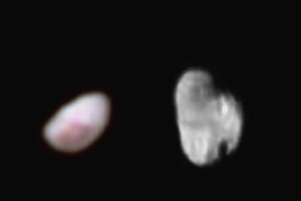 Imagen de la luna de Plutón, la cual ha tenido un gran interés para la m...