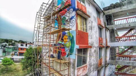 Este es uno de los edificios que ya están siendo beneficiados por...