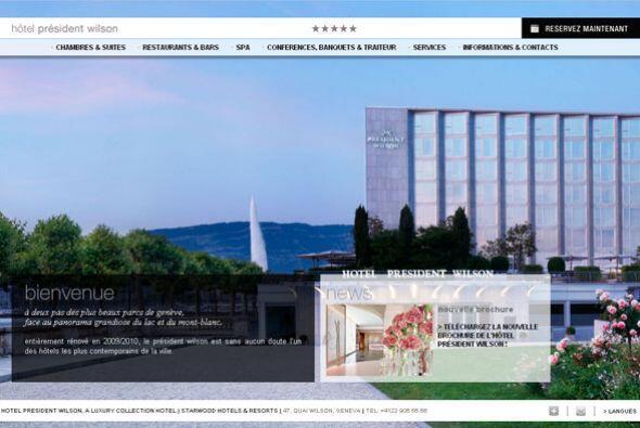 1. PRESIDENT WILSON HOTEL- Sus 228 habitaciones fueron renovadas en 2010...