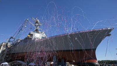 En fotos: El héroe hispano que dio el nombre a un buque de guerra de EEUU