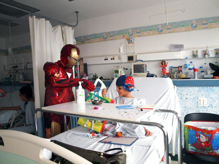 Salud cancer infantil