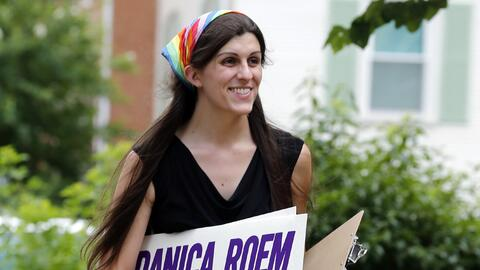 Primera asambleístas transgénero en Virginia, Danica Roem,...