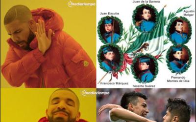 Estos son los mejores memes que arrojó la victoria de Méxi...