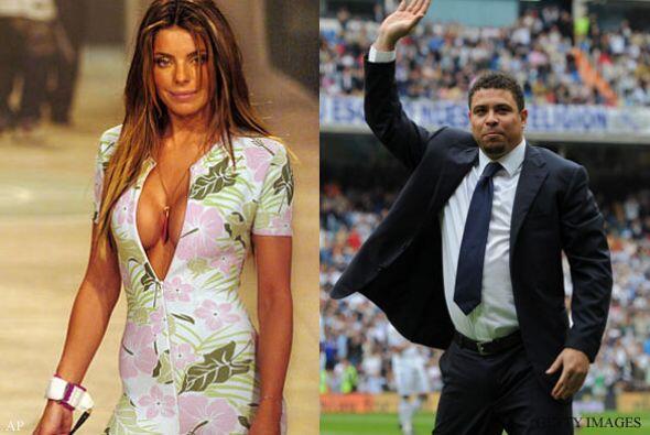 DANIELA CICARELLI Y RONALDO: El futbolista ha tenido mucha suerte con la...