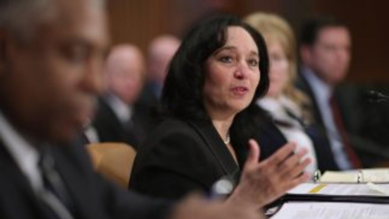 La doirecvtora de la DEA, Michelle Leonhart.