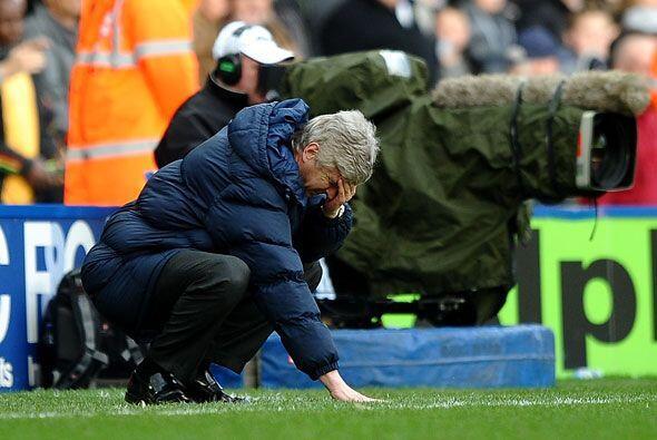 Arsene Wenger se lamentó de la mala suerte de los 'Gunners'.