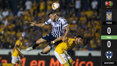 En un clásico empañado por la violencia, Tigres y Rayados se olvidaron del fútbol