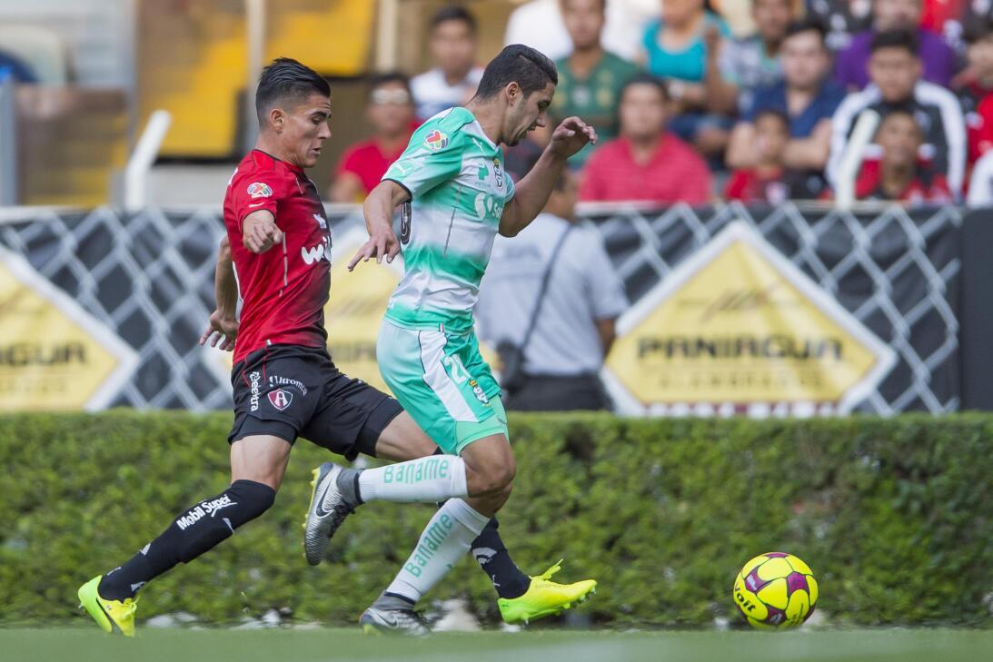 Atlas y Santos reparten puntos Jorge Sanchez Santos y Luis Reyes Atlas.jpg