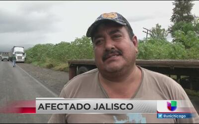 Afectados hablan del impacto del Huracán Patricia