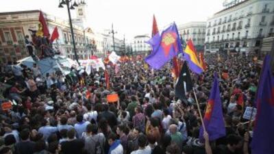 """""""¡España, mañana, será republicana!"""" es el grito que más se escuchó en l..."""