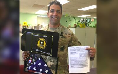 Richard José Concepción, un militar retirado, fue se&ntild...