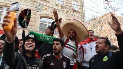 Fiesta mexicana en Rusia, a dos días del debut contra Alemania