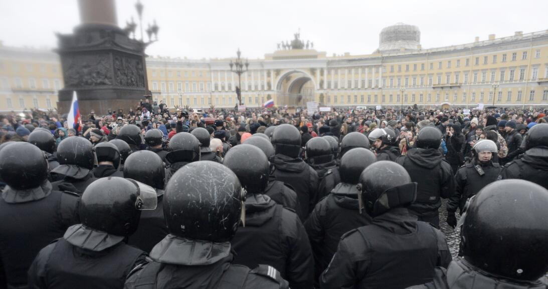Las protestas parecen ser una de las mayores muestras coordinadas de des...