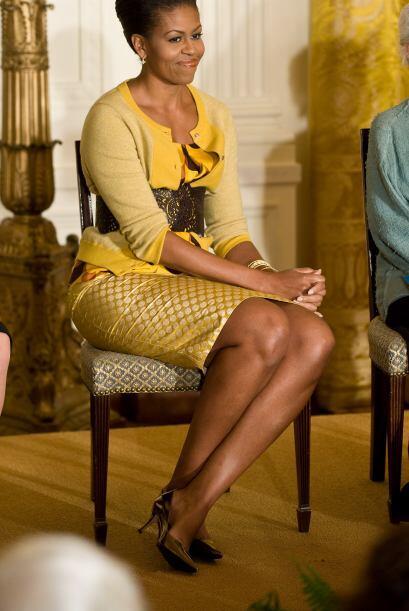 La primera dama siempre se ocupa de la salud, disciplina y éxito de sus...