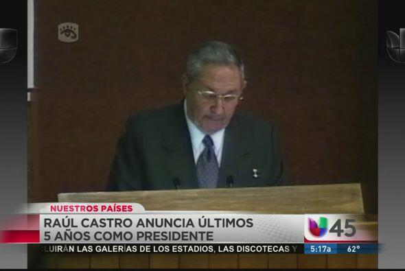 Impactados quedamos también con el anuncio del mandatario cubano Raúl Ca...
