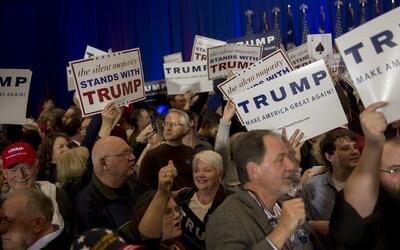 Donald Trump se proyecta como ganador de las primarias republicanas en C...
