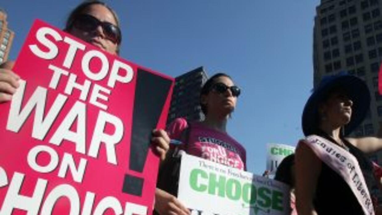 El movimiento feminista norteamericano está poniendo toda la carne en el...