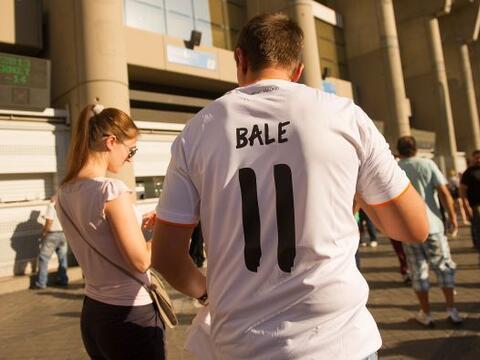 La afición de Real Madrid quería presenciar el debut del r...