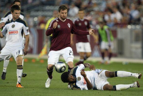 Mientras el campeón defensor de la MLS lamentó otro partido sin poder su...