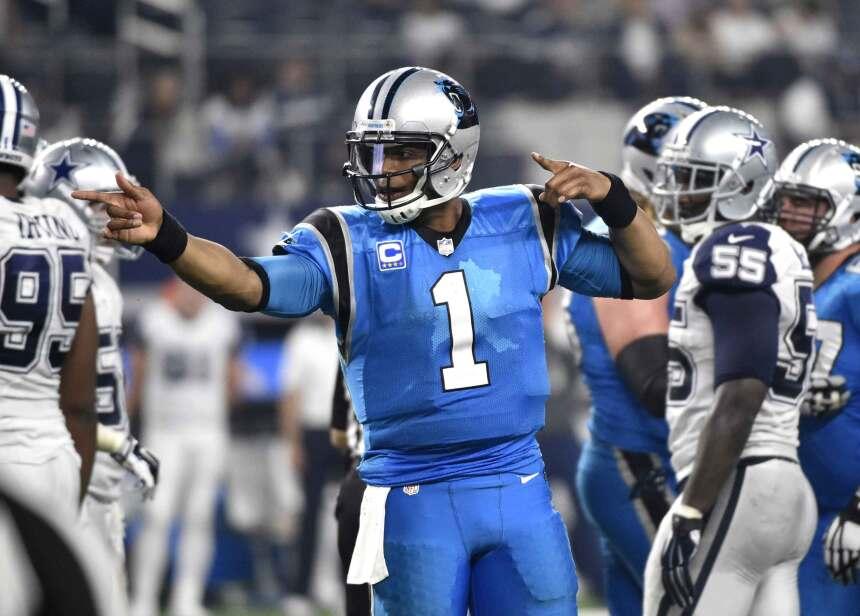 Cam Newton anotó una vez por tierra para llevar a los Panthers a mantene...