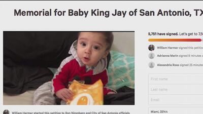 Residente de San Antonio solicita construcción de un santuario en memoria de Baby King Jay