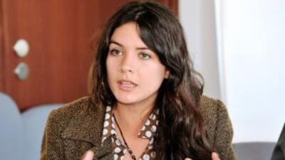 Camila Vallejo encabezó en Chile las protestas de los estudiantes secund...