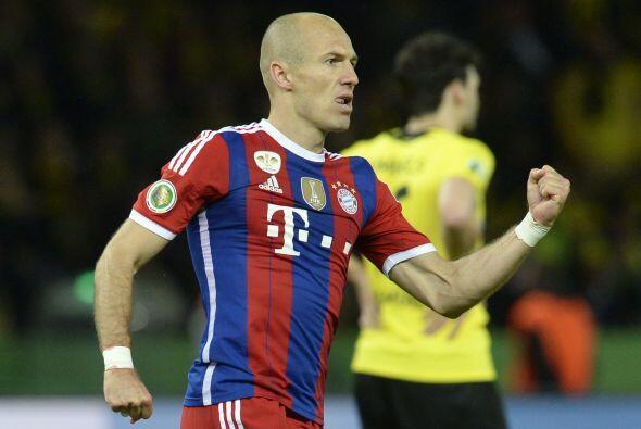 Arjen Robben fue inmoralizado como el 'Autorretrato' de Vincent van Gogh.