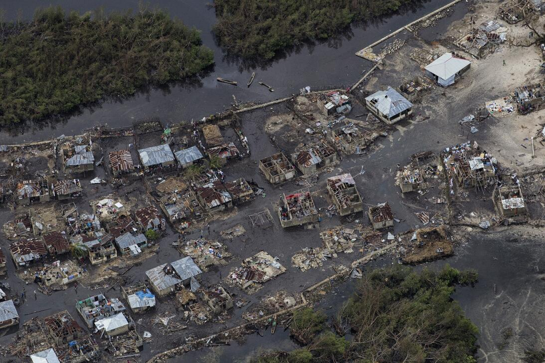 Matthew left small fishing villages flooded and entirely cut off during...