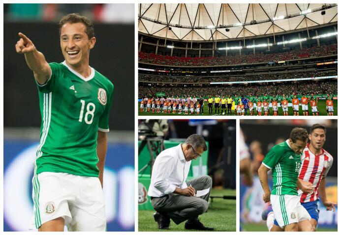 El último México vs. Paraguay se lo quedó el 'Tri' MEX PAR.jpg